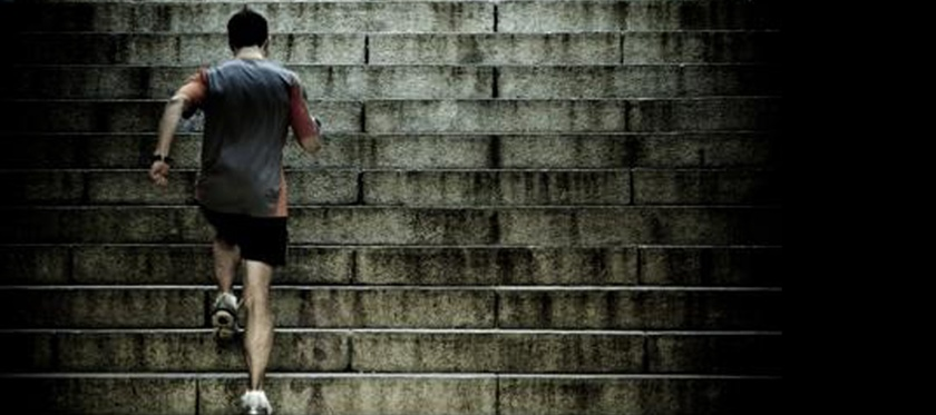 Stair climbing is a growing sport and a great work out
