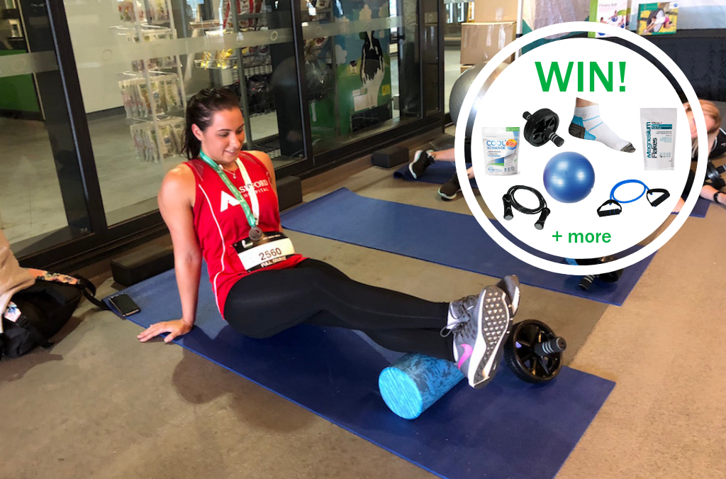 WIN! 1 of 5 Training and Recovery Prize Packs worth $250