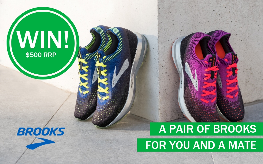 WIN! A pair of Brooks for you AND a friend