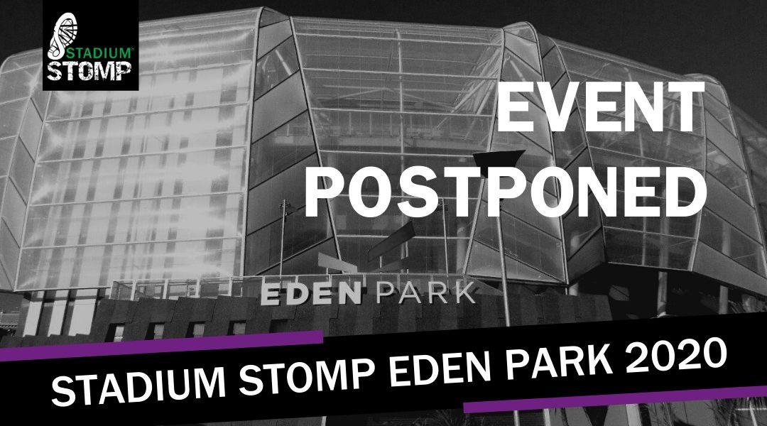 Stadium Stomp Eden Park COVID-19 update
