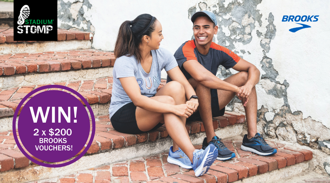 Win TWO $200 Brooks vouchers – one for you and your training buddy!